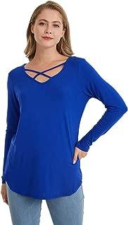 Best women's deep v neck t shirt Reviews