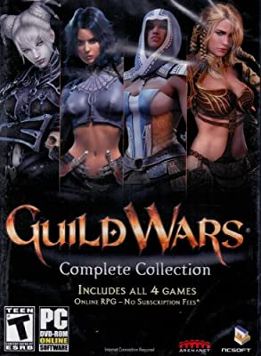 Guild Wars Complete Collection Includes All 4 Games from ARENANET- NCSOFT