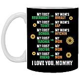 Taza de café con idea de taza de té – 15 onzas, I Love You Mommy taza