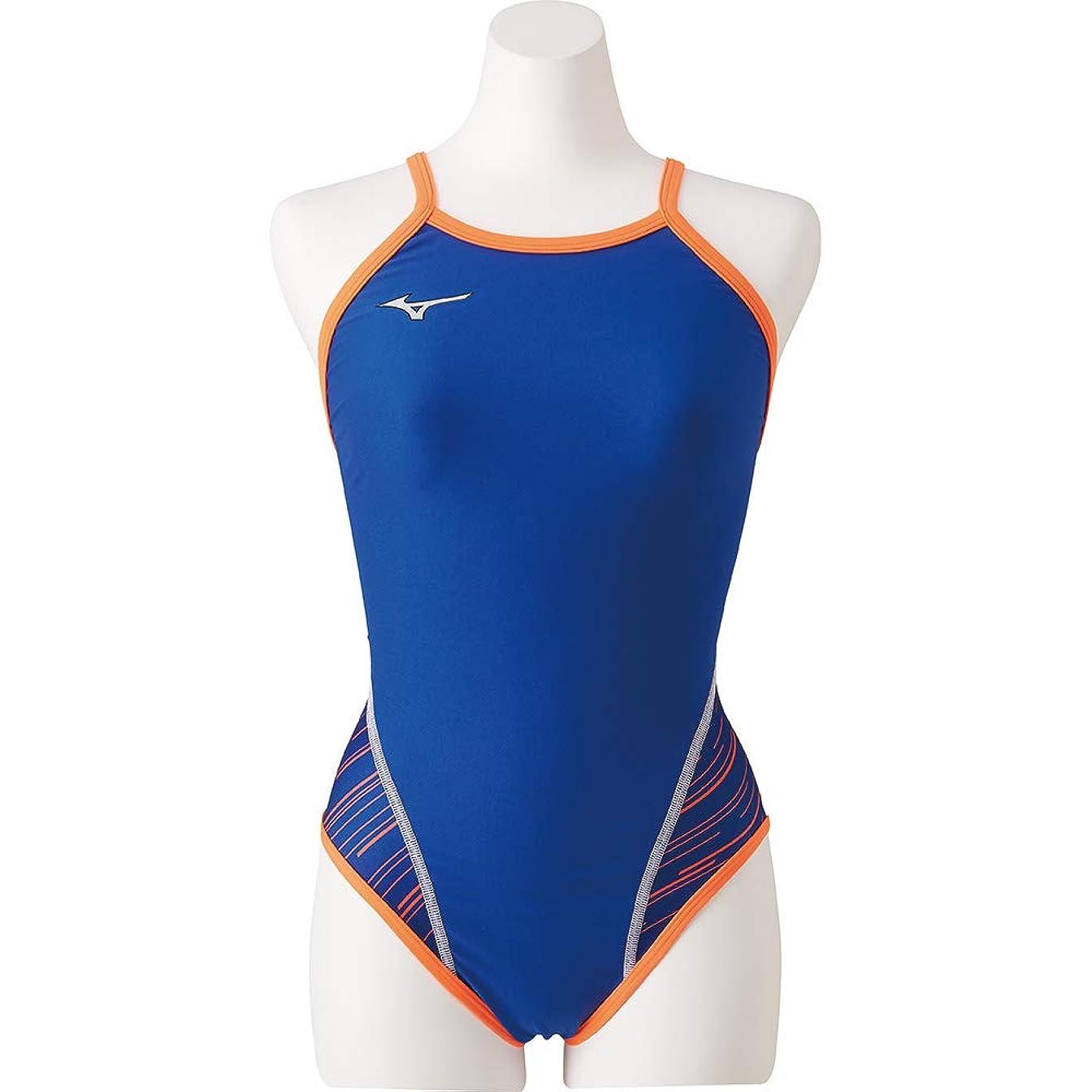 国旗ものかかわらずMIZUNO(ミズノ) 競泳水着 トレーニング用 ジュニア エクサースーツ ミディアムカット GX SONIC IVデザイン N2MA9482