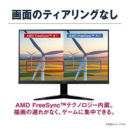 51Zn2Kd5mdL-Acerのゲーミングモニター「KG251QGbmiix 24.5インチ」を購入したのでざっくりレビュー