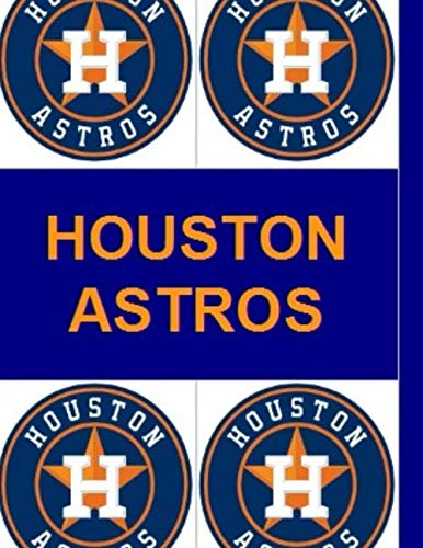 Houston Astros : Personalized Notebook - Simple Gift for Man/Girlfriend/Boss named Houston Astros Journal Diary (110 Pages, Blank, Lined 8,5x 11 inches) (Names)