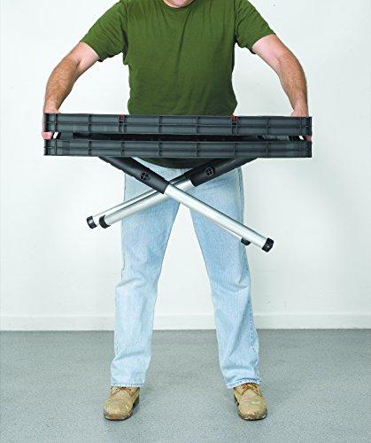 Keter 17182239  Werkzeugbank Master Pro Serie Folding Work Table,  Kunststoff, schwarz / gelb - 6