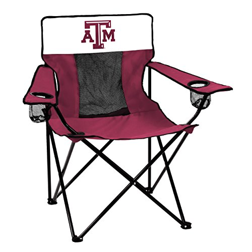 Logo Brands Officially Licensed NCAA Unisex Elite Chair, One Size,Texas A&M Aggies