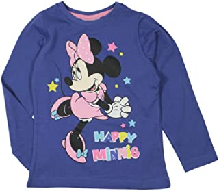 Disney Minnie Mouse Maglietta Manica Lunga HS1494