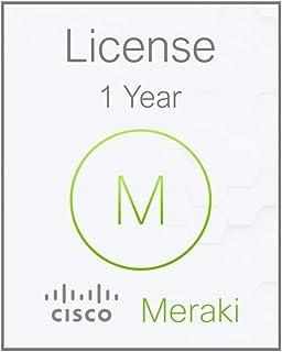 MERAKI Enterprise Subscription License for Cisco MR APs (MR12, MR16, MR18, MR24, MR26, MR34, MR62, MR66) Access Points - 1 Year, [Importado de UK]