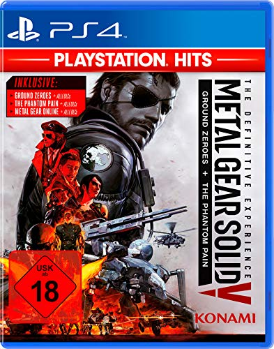Metal Gear Solid V - The Definitive Experience - Ground Zeroes & The Phantom Pain - PlayStation Hits - [PlayStation 4]