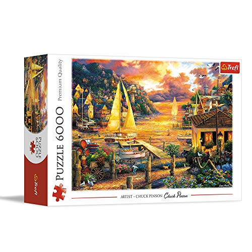 Trefl- Puzzles 6000 Puzzels, Color Coloreado (65005)