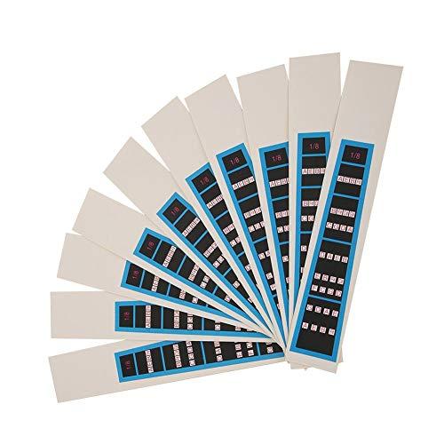 4/4 Violin Sticker 3/4 Violin Sticker Notes Guide, Violin Sticker, Anfänger zum Üben(BC03 1/8 blue border)