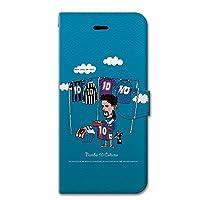 iPhoneSE (第1世代) iPhoneケース (手帳型) [カード収納/ストラップホール/ヒアリングホール] soccerjunky (サッカージャンキー) Select10 CollaBorn (iPhone5s/iPhone5対応)