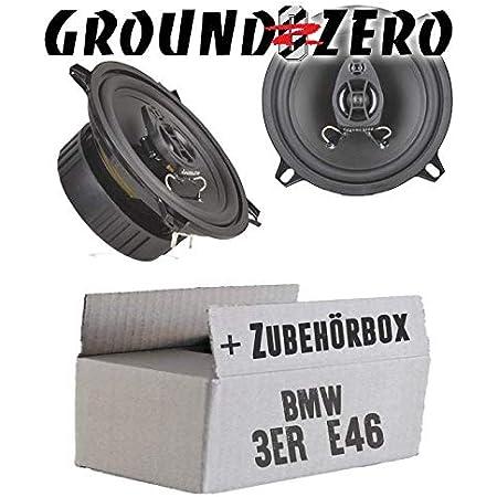 Ground Zero Gzif52x 13cm Lautsprecher Koaxe Einbauset Für Bmw 3er E46 Just Sound Best Choice For Caraudio Navigation