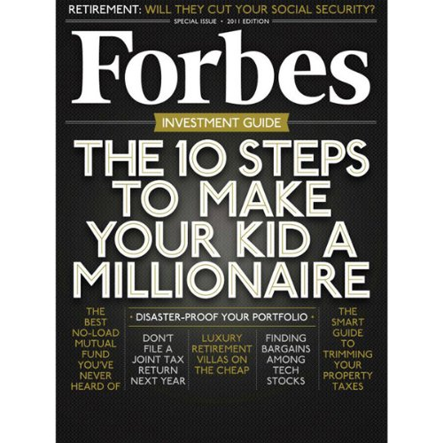 Forbes, June 13, 2011 audiobook cover art