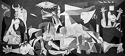 Buyartforless Guernica 1937 by Pablo Picasso 18x8 Museum Art Print Poster