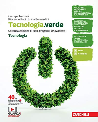 Tecnologia.verde. Confezione Tecnologia-Disegno, Laboratorio e Coding. Per la Scuola media. Con e-book