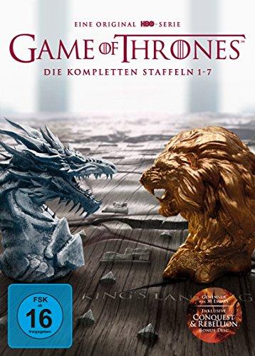 Game of Thrones: Die kompletten Staffeln 1-7 als Digipack (exklusiv bei Amazon.de) (Limited Edition) [DVD]