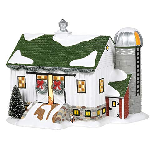Department 56 Country Living Village Crooked Creek Farm Lit Building, 7.48 Inch, Multicolor