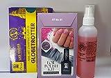 Moyra Aceite Moyra Kit Para Stamping Con Foil Nº 01 (Contiene: Esmalte Para Foil Negro, Foil Rojo, Foil Plata, Pigmentos 18 Y 38) - 1 unidad