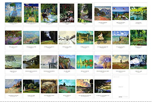 New Collectible Edition!artist and Claude Monet collection postcards. 30 Various Claude Monet Postcards 4x6 Inch(Claude Monet)