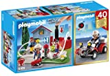 PLAYMOBIL City Action - Compact Set Aniversario: Bomberos y Quad (5169)