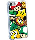 RDS Industries Officially Licensed Nintendo iPhone Case Super Mario Icons for iPhone 6/6S, 7, 8