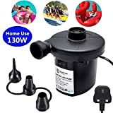 RUANCC Electric Air Pump for Inflatables Portable Battery Air Pump Rechargeable