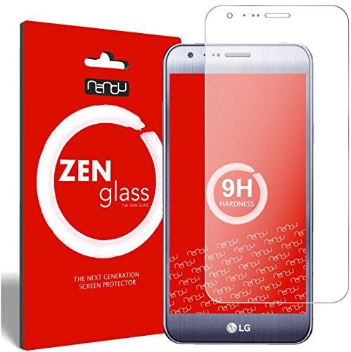 ZenGlass Flexible Glas-Folie kompatibel mit LG X Cam Panzerfolie I Bildschirm-Schutzfolie 9H