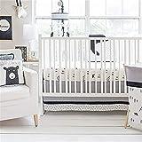 My Baby Sam 3 Piece Crib Bedding Set, Little Black Bear