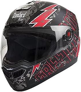 Steelbird SBA-1 Free Live Matt Black with Red with Smoke visor,580mm