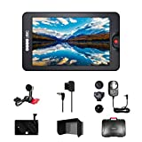 osee G7 7'' Ultra-Bright 3000 Nits 1920×1200 Full HD 4K HDMI SDI Camera Field Monitor Kit Including Arm Trestle D-Tap Cable Power Adaptor V-Mount Battery Plate Sun Hood and Hard Case
