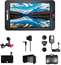 Osee G7 7 Inch Ultra-Bright 3000 Nits DSLR Camera Field HDR Monitor 1920×1200 Full HD 3G SDI 4K HDMI in&Out Including Arm Trestle Dtap Cable Power Adaptor V Mount Battery Plate Sunshade and Hard Case