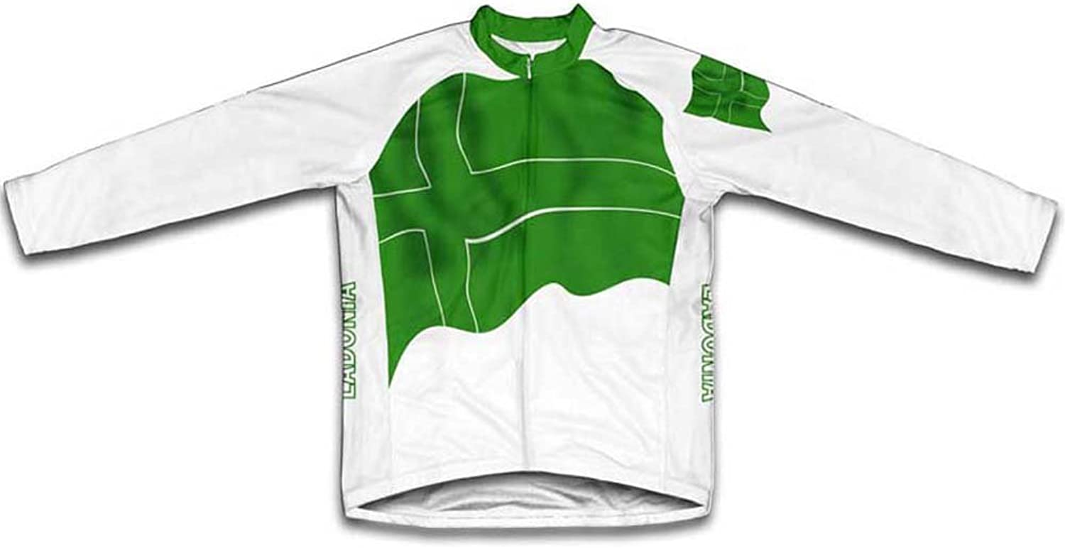 Ladonia Flag Winter Thermal Cycling Jersey for Women