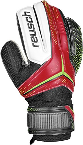 Reusch Soccer Receptor SG Junior Goalkeeper Glove, 4, Pair