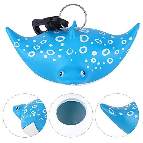 DAUERHAFT Boquilla del regulador del Buceo con Gancho, para Deportes acuáticos, Buceo con escafandra AC(Devil Fish)