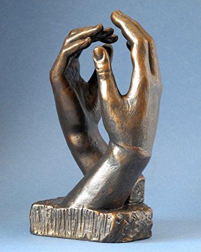 La Catedral / Manos - Escultura 17 cm - Replica de una obra de Auguste Rodin #26