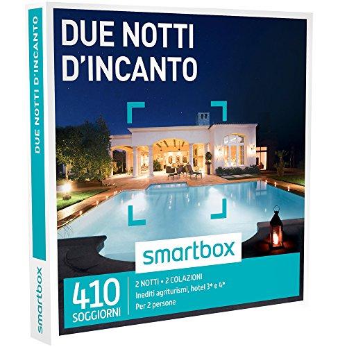 Smartbox - Due Notti D'Incanto - 410 Soggiorni In Agriturismi, Hotel 3* e 4*, Dimore e Masserie, Cofanetto Regalo Gastronomici
