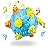 OHQ Baby Music Shake Dancing Ball Juguete de Rebote Libre sensorial de Desarrollo Ball