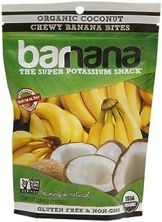 Barnana The Super Potassium Snack Chewy Banana Bites, Organic Coconut, 12 pk 3.5 oz (Pack of 1)