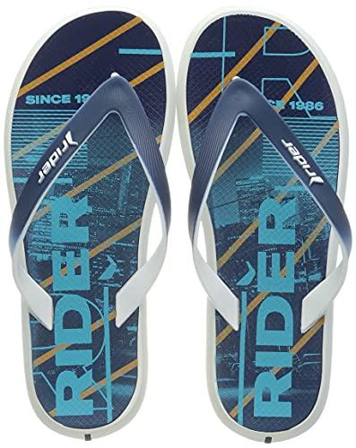 Rider Energy Plus IV AD, Chanclas Hombre, Blanco y Azul, 44 EU
