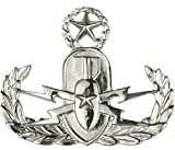 Air Force Explosive Ordnance Disposal (EOD) Dress Brite Badges (Full Size,...