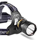 LZRDZSWYXGS LED Head Torch Rechargeable,Light Head Torches LED Super Bright Multifunctional Outdoor Headlamp,Waterproof-Head