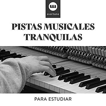 Pistas Musicales Tranquilas para Estudiar