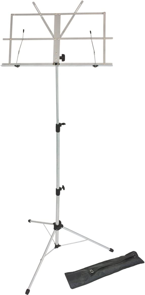 Ultra-Cheap Deals Lawrence LMS02-SL Metal Folding and San Jose Mall Sheet Music Adjustable Stand