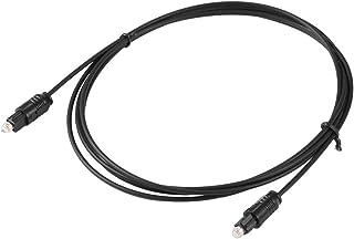 デジタルオーディオケーブル接続ケーブル1.8 Mデジタル光ファイバーToslinkオーディオケーブルPVCファイバーToslinkオーディオコード