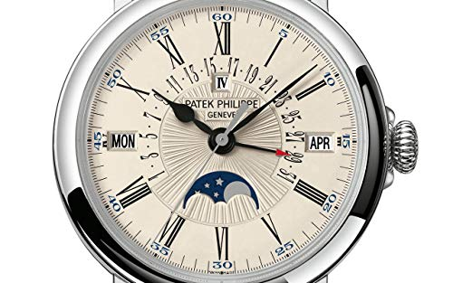 Patek Philippe Grand Complications White Gold 5159G-001 with White Opaline dial