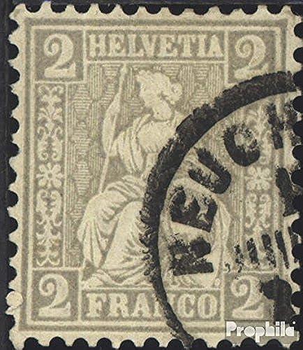barato en alta calidad Prophila Prophila Prophila Collection Suiza 20 1862 Helvetia (Sellos para los coleccionistas)  promociones de descuento
