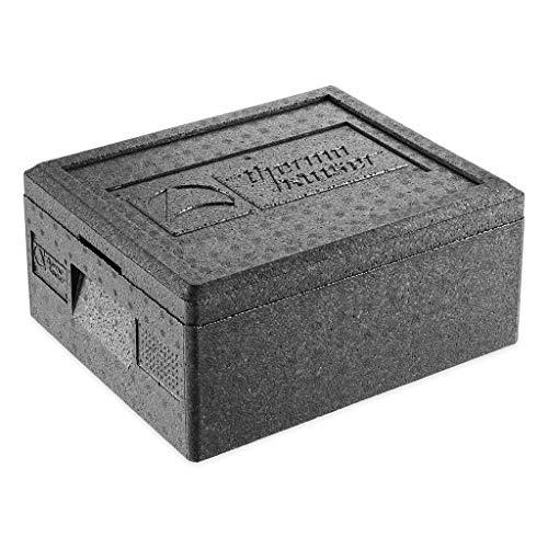 EPP-thermobox GN 1/2 zwart, met deksel, 10 L