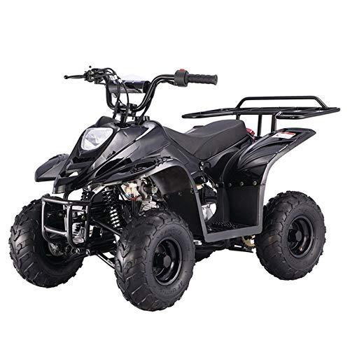 X-PRO 110cc ATV Quad Youth ATVs Quads 110cc 4 Wheeler ATVs Kid Size ATV 4 Wheelers,Black