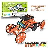 Yeelan DIY 4WD Kletterauto Solar Roboter Spielzeug Kit Double Energy Mode Roboter Montage Autos Kits...