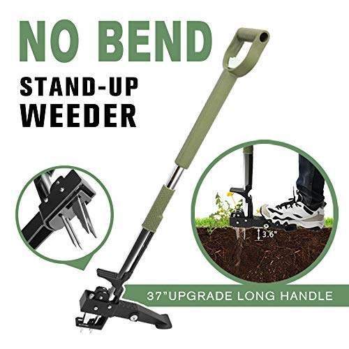 Homes Garden No Bend Stand-Up Manual Weeder 39