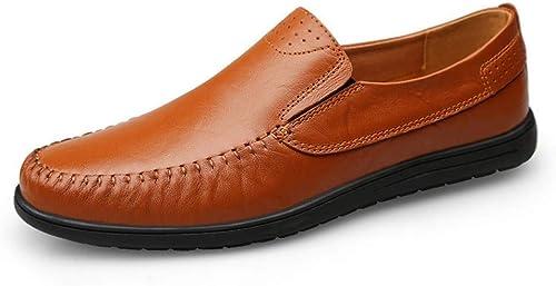 Zapatos de Negocios británicos for hombres zapatos de Cuero for hombres .zapatos de Moda